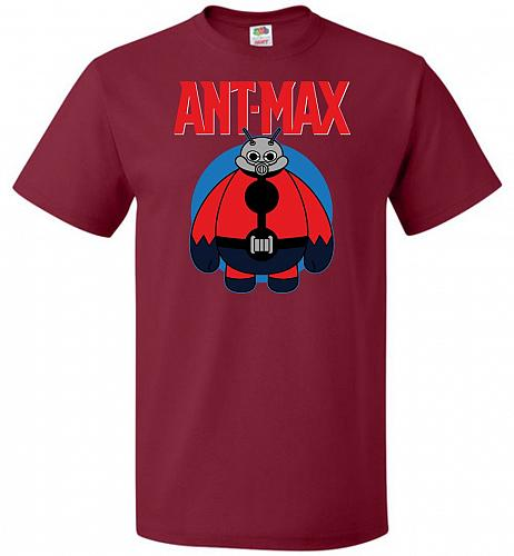 Ant-Max Unisex T-Shirt Pop Culture Graphic Tee (4XL/Cardinal) Humor Funny Nerdy Geeky