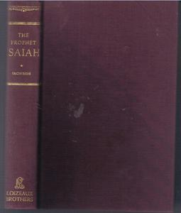 THE PROPHET ISAIAH :: 1952 HB :: FREE Shipping