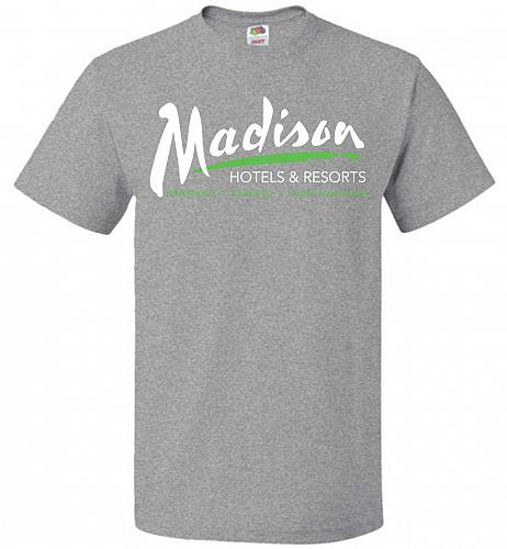 Billy Madison Hotels & Resorts Adult Unisex T-Shirt Pop Culture Graphic Tee (S/Athlet