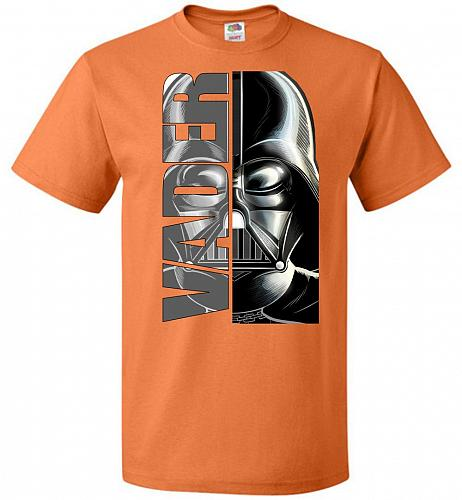 Vader Youth Unisex T-Shirt Pop Culture Graphic Tee (Youth S/Tennessee Orange) Humor F