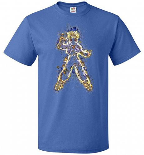 Mysterious Youth Trunks Unisex T-Shirt Pop Culture Graphic Tee (5XL/Royal) Humor Funn
