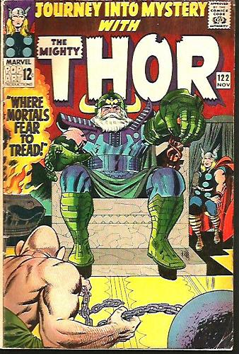 Journey Into Mystery THOR 122 Stan Lee & Jack Kirby Marvel Comics 1965 1stSeries