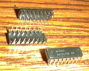 Lot of 12: National Semiconductor DM74174N