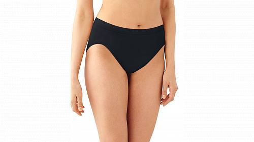 6 Pack Bali Comfort Revolution Microfiber Hi Cut Panty #AK83-2