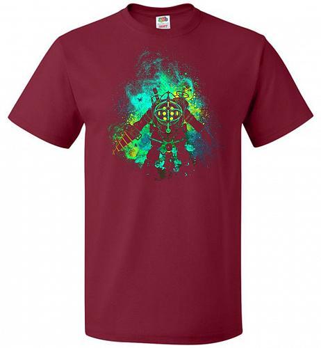 Raputure Art Unisex T-Shirt Pop Culture Graphic Tee (6XL/Cardinal) Humor Funny Nerdy