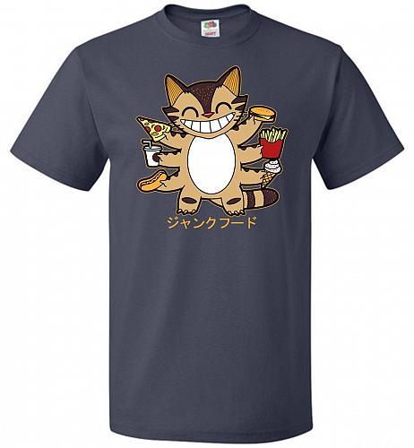 Advantage Unisex T-Shirt Pop Culture Graphic Tee (3XL/J Navy) Humor Funny Nerdy Geeky