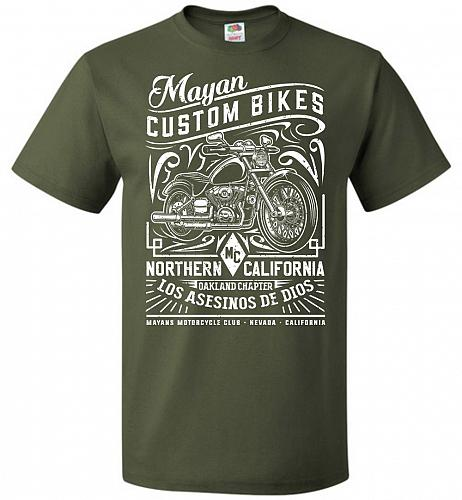 Mayan Custom Bikes Sons Of Anarchy Adult Unisex T-Shirt Pop Culture Graphic Tee (S/Mi