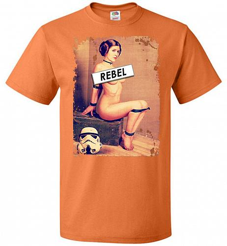 Princess Leia Rebel Youth Unisex T-Shirt Pop Culture Graphic Tee (Youth S/Tennessee O
