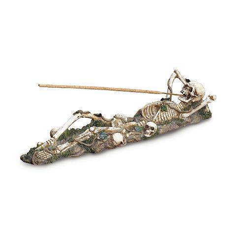 37078U - Skeleton Figure Stick Incense Holder