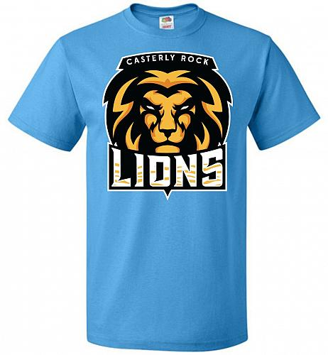 Game of Thrones Inspired Casterly Rock Lions Sports Parody Adult Unisex T-Shirt Pop C