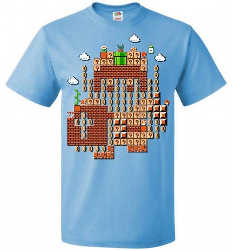 Legend Maker Unisex T-Shirt Pop Culture Graphic Tee (M/Aquatic Blue) Humor Funny Nerd