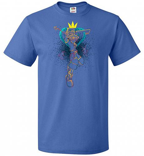 Shadow Of The Hearts Unisex T-Shirt Pop Culture Graphic Tee (6XL/Royal) Humor Funny N