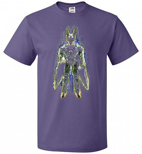 Perfection Unisex T-Shirt Pop Culture Graphic Tee (L/Purple) Humor Funny Nerdy Geeky