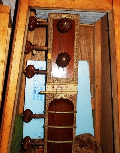 ANTIQUE-60+YEAR-OLD SITAR by the Hemen Co-Historical in Value