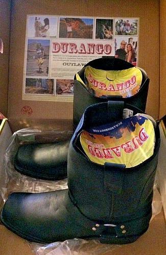 Men's Durango Dark Brown Harness Boot DB510 Head West Size 15D New in Box