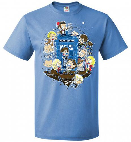 Let's Play Doctor Unisex T-Shirt Pop Culture Graphic Tee (L/Columbia Blue) Humor Funn