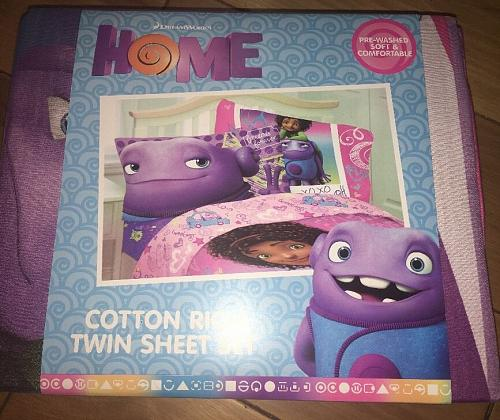 Dreamworks Home My BFF Forever Sheet Set Twin