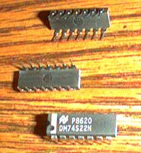 Lot of 25: National Semiconductor DM74S22N