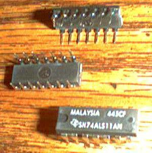Lot of 11: Texas Instruments SN74ALS11AN