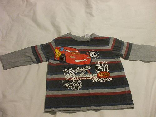 Disney Pixar Lightning McQueen Long Sleeve Sweater 3X 100% Cotton Boys Girls