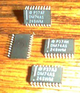 Lot of 38: National Semiconductor DM74AS245WM