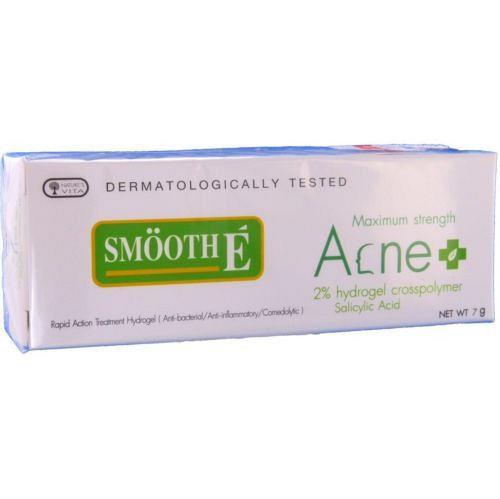 Smooth E Maximum Strength Rapid Action Salicylic Acid Hydrogel Acne Gel 7 grams
