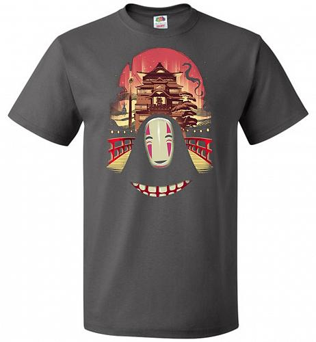 Welcome to the Magical Bathhouse Unisex T-Shirt Pop Culture Graphic Tee (4XL/Charcoal