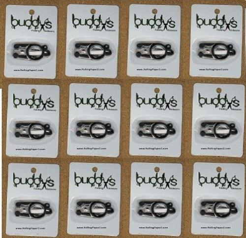12X BUDDYS FOLDING SCISSORS Hydroponic Clone Cuttings Trimming POCKET SIZE Chain