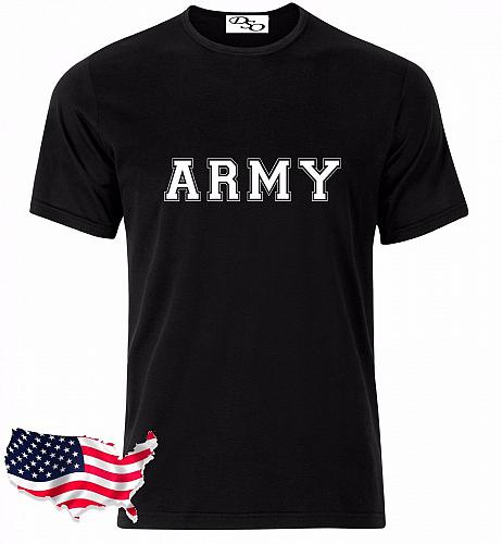 US Army T Shirt Navy Air Force USAF Marines USMC Military Physical Training GD