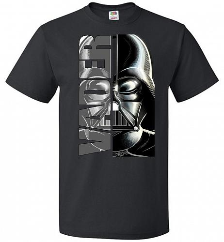 Vader Youth Unisex T-Shirt Pop Culture Graphic Tee (Youth S/Black) Humor Funny Nerdy