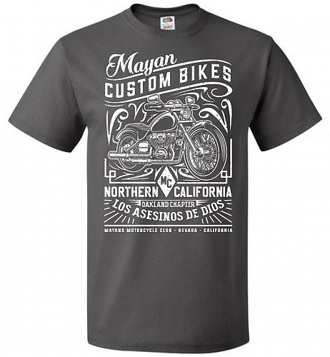 Mayan Custom Bikes Sons Of Anarchy Adult Unisex T-Shirt Pop Culture Graphic Tee (5XL/