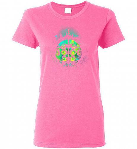 Face Of Rapture Unisex T-Shirt Pop Culture Graphic Tee (XL/Azalea) Humor Funny Nerdy
