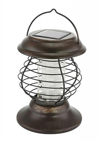 :11012U - Solar Bug Zapper Lantern LED Light