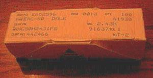 100: Dale RNC50H2431FS Military Metal Film Resistors