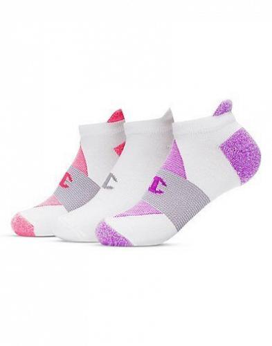 6 Pair Champion Women's Heel Shield Socks #CH664