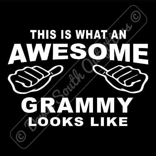 This Is What An Awesome Grammy Looks Like T-shirt (16 Tee Colors)