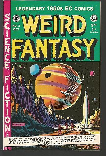 Weird Fantasy #5 EC Comics Russ Cochran 1950's /1993 Reprint NM