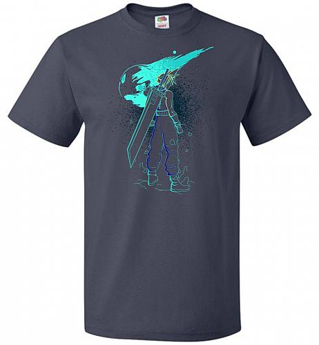 Shadow Of The Meteor Unisex T-Shirt Pop Culture Graphic Tee (M/J Navy) Humor Funny Ne