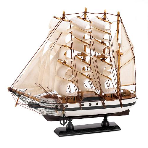 14751U - Passat Tall Ship Model Wood Cotton