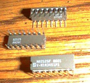 Lot of 25: Signetics N82S25F