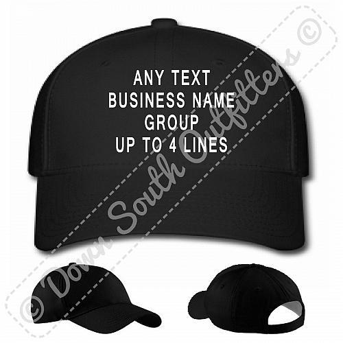 Personalized Custom Baseball Hat Ball Cap