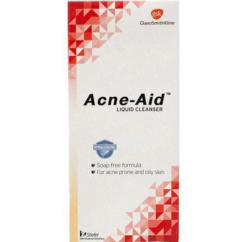 Acne Aid Liquid Cleanser Soap Free Facial Cleanser Acne Prone Oily Skin 100ml