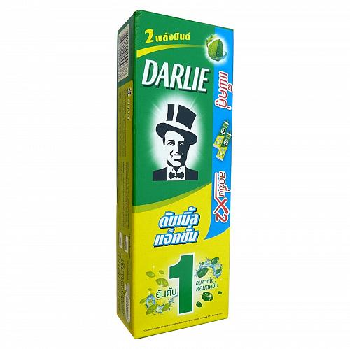 Darlie Double Action Toothpaste Two Mint Powers 170 grams Pack of 2