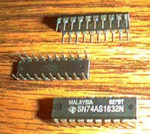 Lot of 7: Texas Instruments SN74AS1832N
