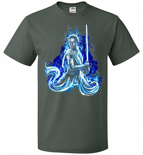 Awaken Unisex T-Shirt Pop Culture Graphic Tee (5XL/Forest Green) Humor Funny Nerdy Ge
