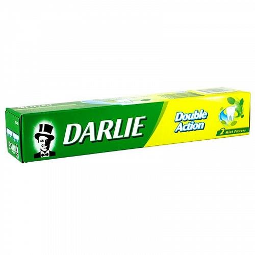 Darlie Double Action Toothpaste Two Mint Powers Spearmint Peppermint 85 grams