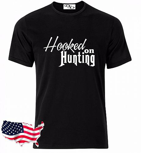 Hooked On Hunting Graphic T-Shirt