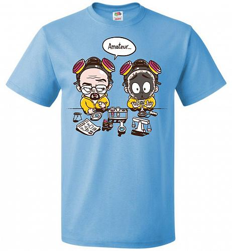 My First Science Kit Unisex T-Shirt Pop Culture Graphic Tee (M/Aquatic Blue) Humor Fu