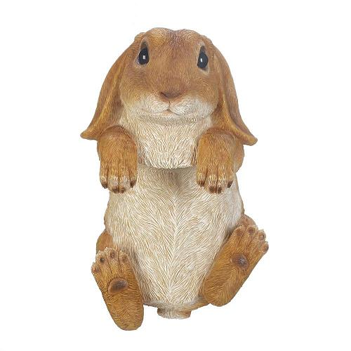 *18098U - Climbing Golden Bunny Buddy Figurine Yard Art