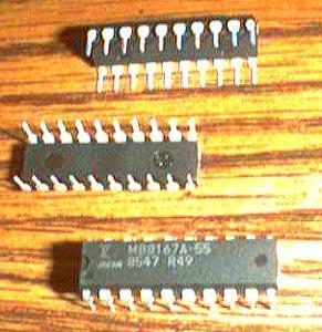 Lot of 20: Fujitsu MB8167A-55